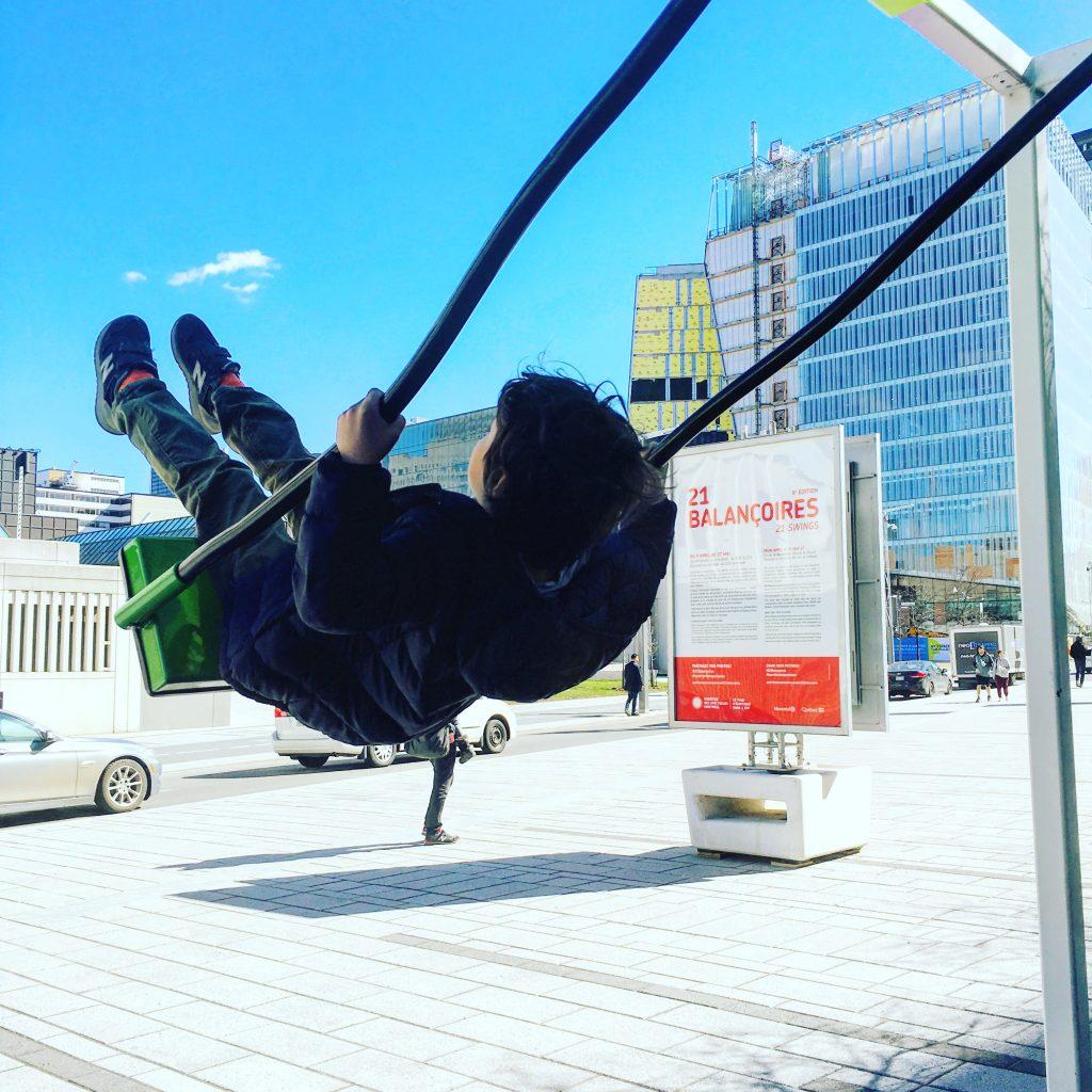 21 Balançoires Montréal Bymelm