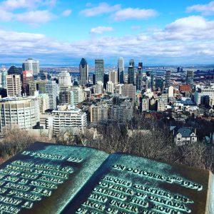 Montréal Visiter le Mont Royal - Québec - Canada - Bymelm