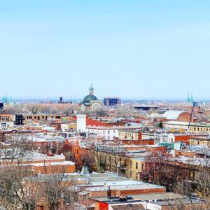 Montréal vue sur les toits Bymelm