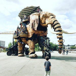 Les Machines de Nantes l'éléphant France Bymelm