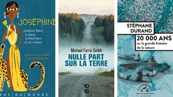 3 livres pour Noël Bymelm littérature
