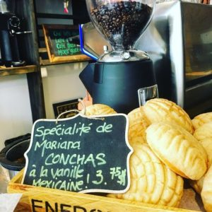 Conchas Mexicaine vanille et farine Bymelm