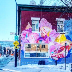 Mural Streetart Montréal Bymelm