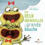 album jeunesse - les deux grenouilles à grande bouche - Bymelm
