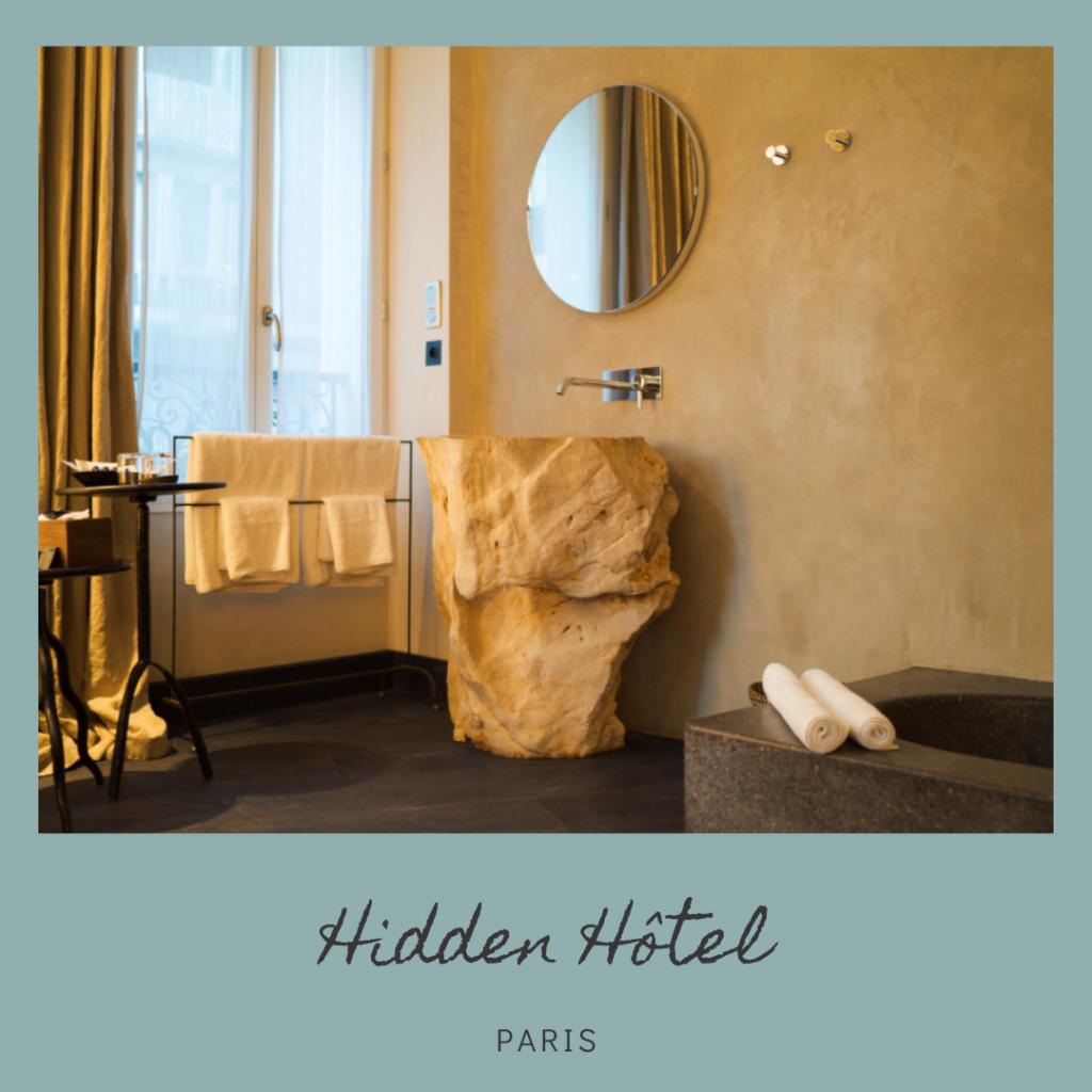 Hidden Hôtel Paris - Joëlle