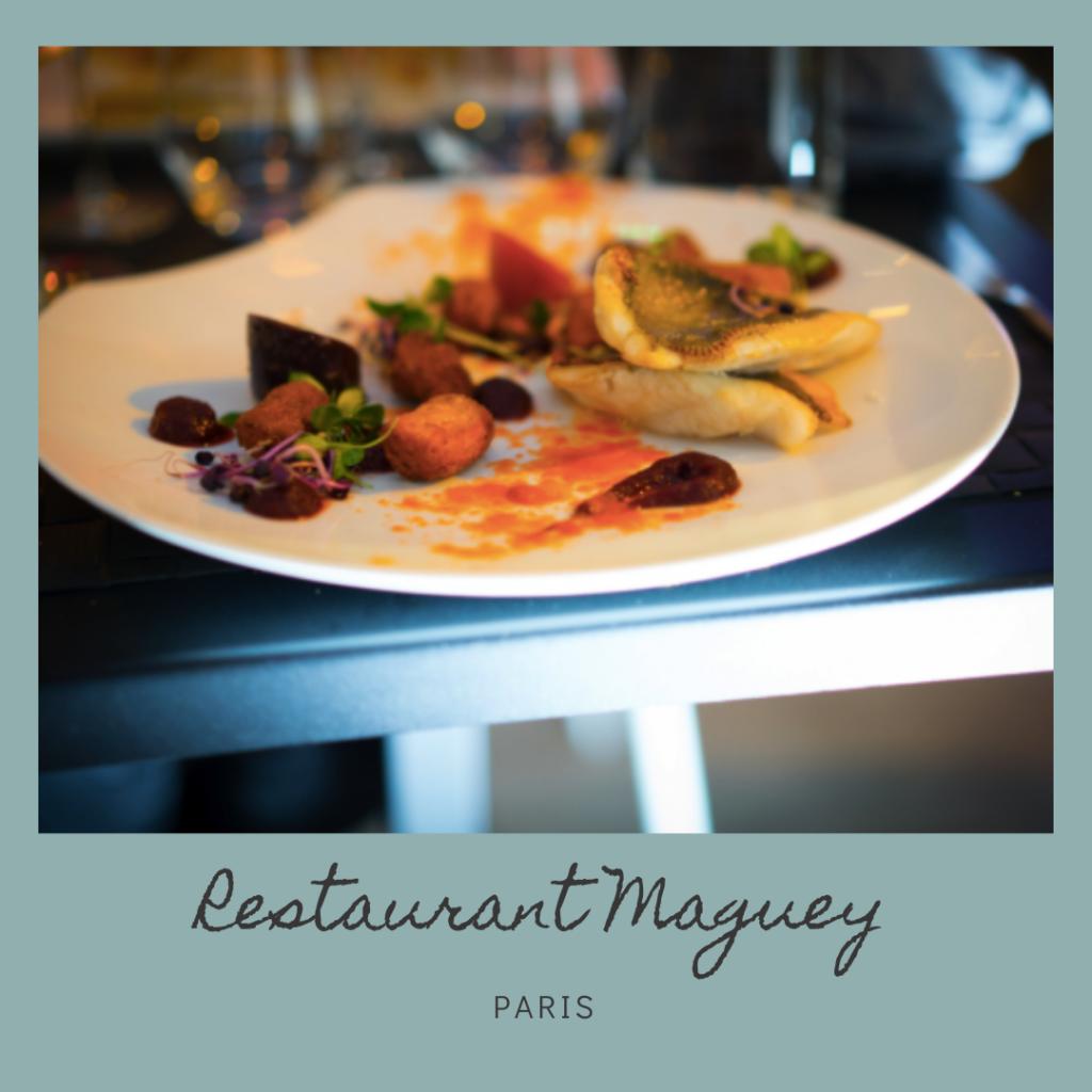 Restaurant Maguey - Joëlle - Paris