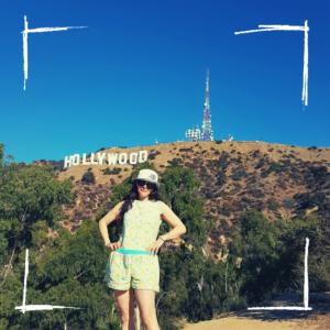 Hollywood sign _ California