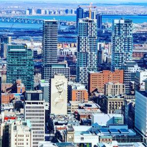 Montréal au Printemps - Québec - Canada