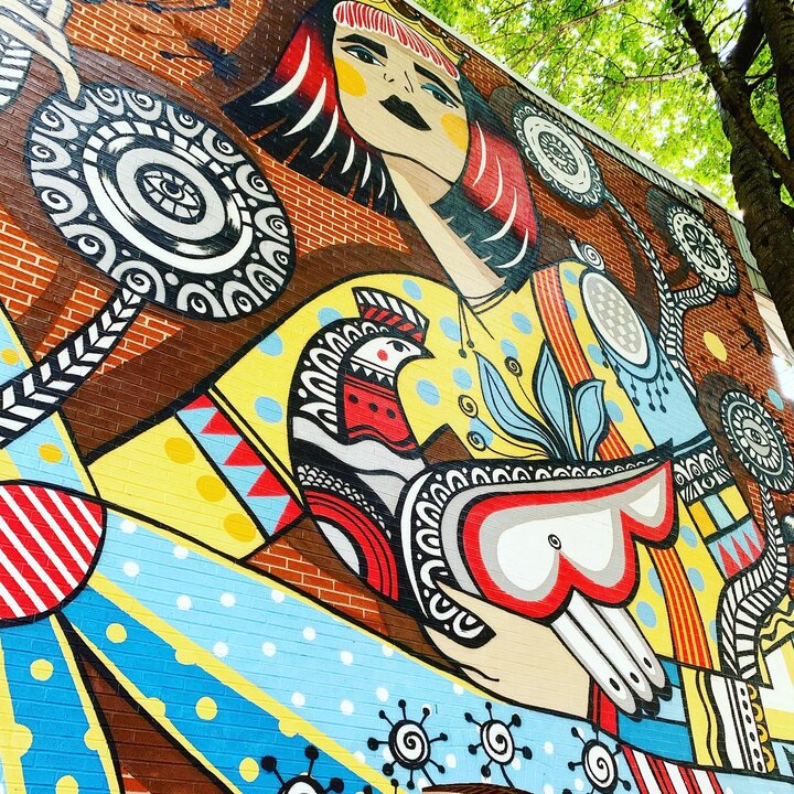 Streetart Olavolo - Bymelm