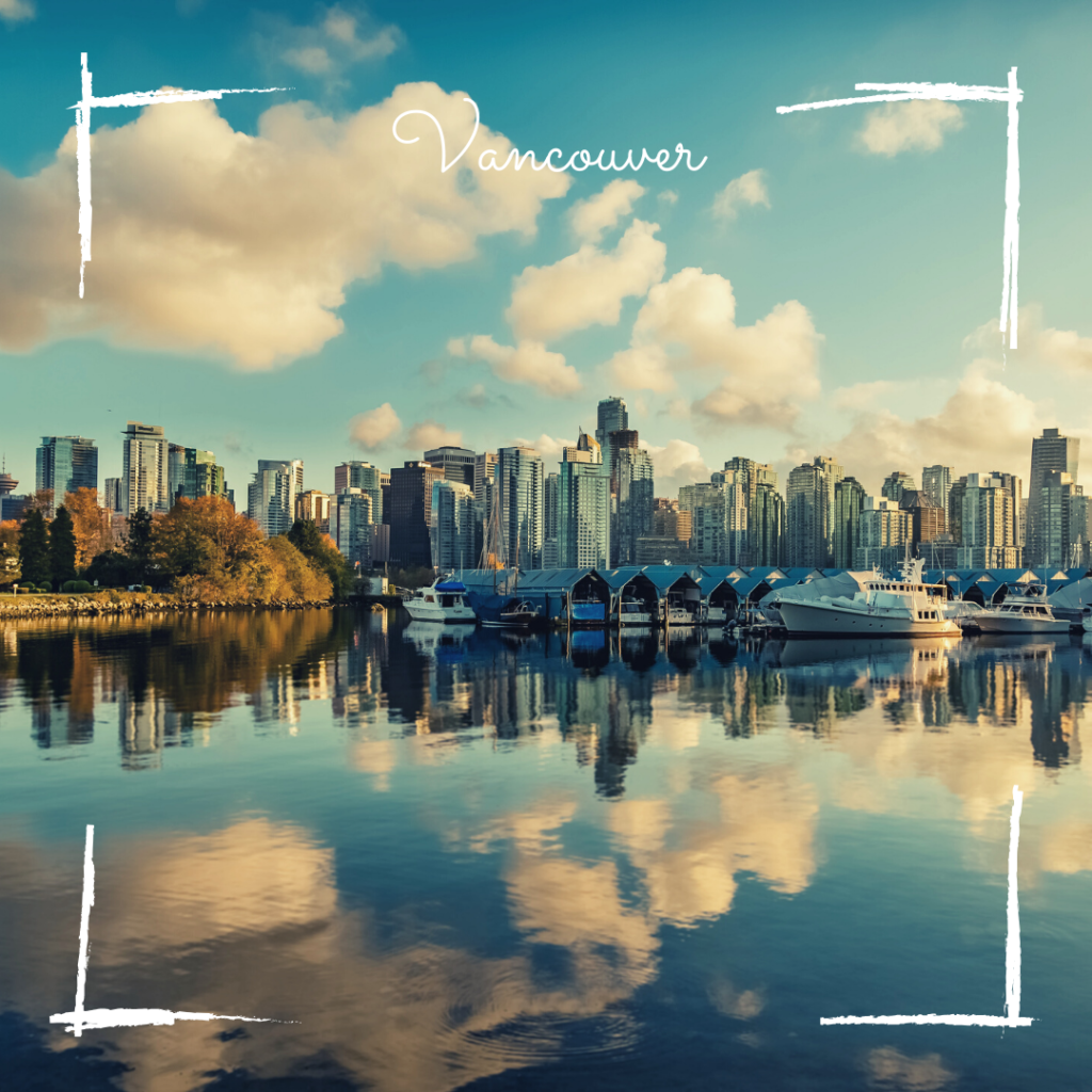 Vancouver skyline - BC - Canada