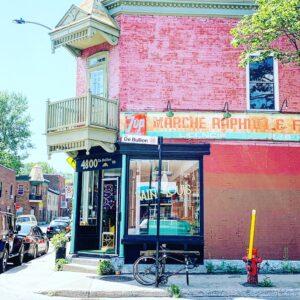 Café Saint Louis Mile End Montréal Canada