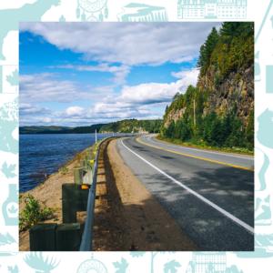 Route 155 - Mauricie - La québécoise
