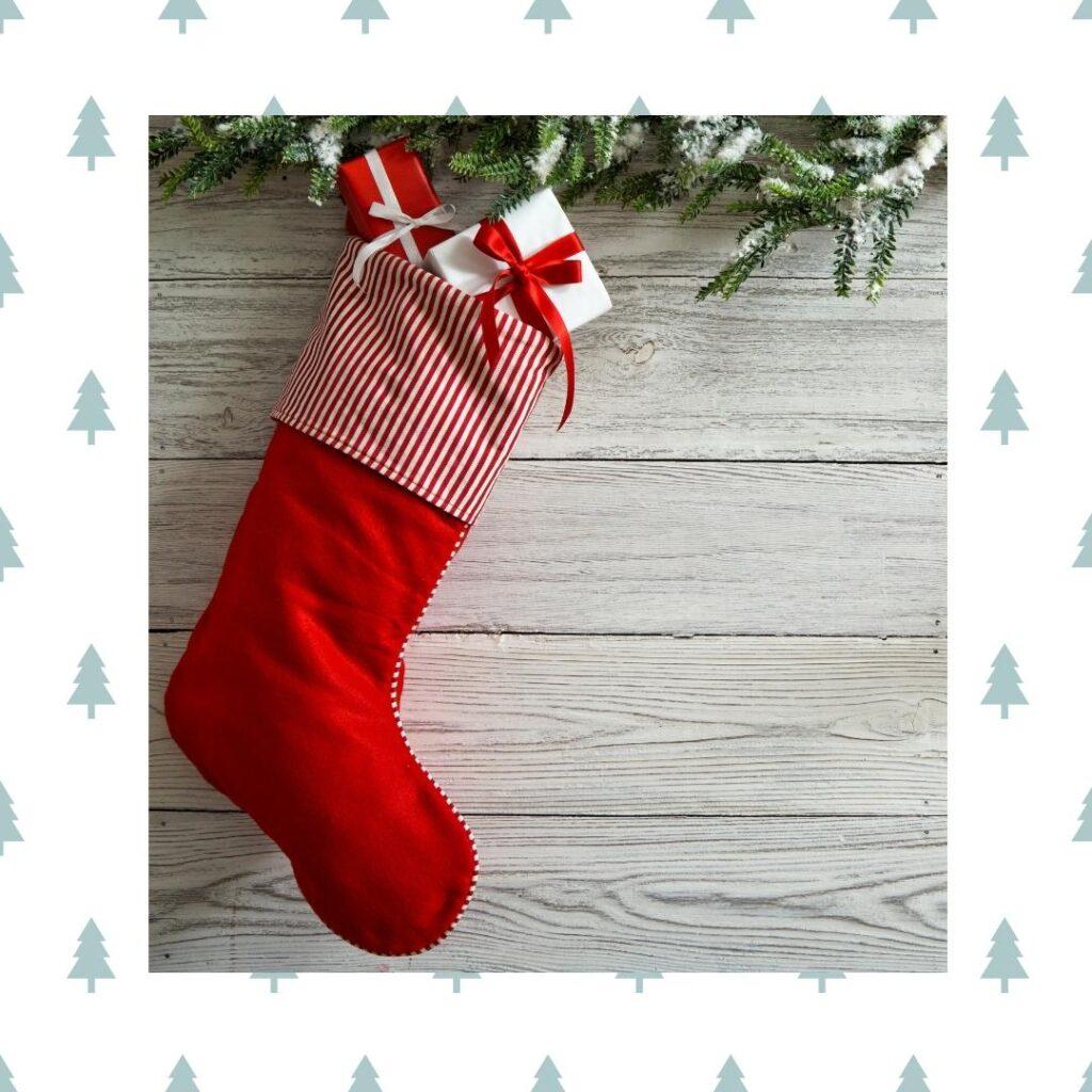 bas de Noel - Chaussettes de Noël - Bymelm