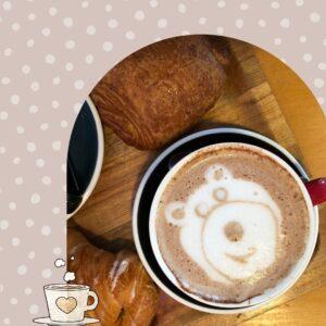 Café - Croissant croissant - Le Plateau Mont Royal - Montréal - On n'oublie pas doudou