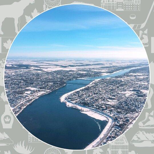 La Montérégie - Québec - Aurore