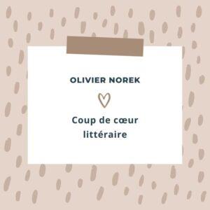 littérature policier Olivier Norek